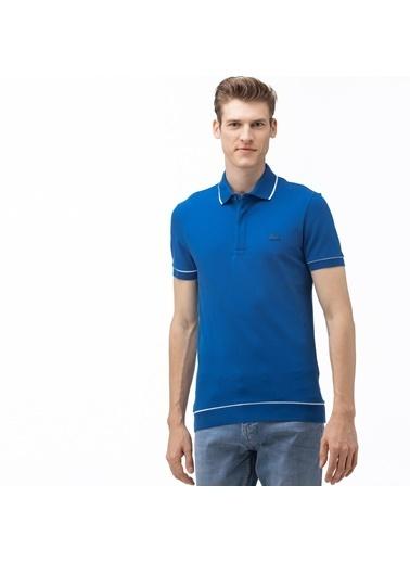 Lacoste Erkek Regular Fit Tişört PH4275.Z7Z Mavi